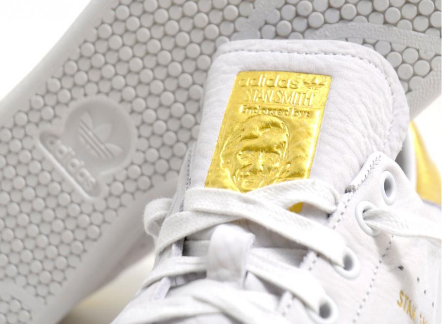 big sale 71ce8 8b163 Adidas Originals Stan Smith 999 24K Gold