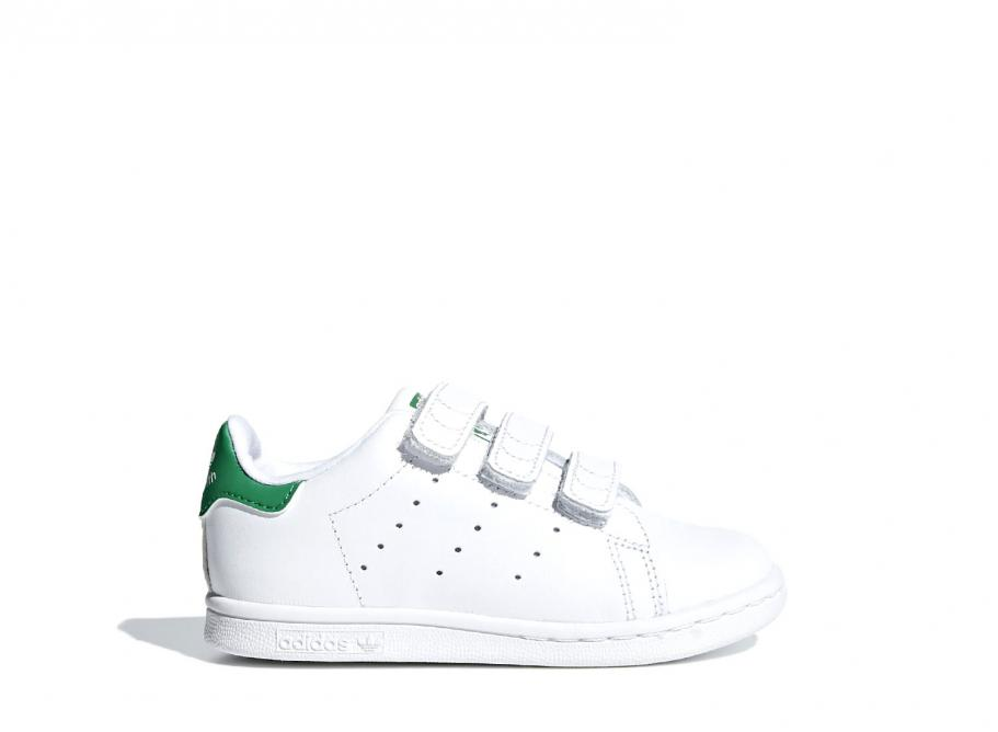 hot sale online ced4a 83d20 Adidas Originals Stan Smith CF White / Green