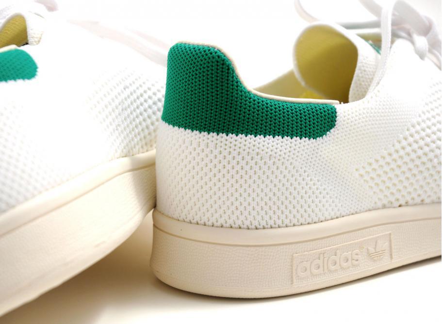 868628904bf Adidas Stan Smith OG Primeknit White   Green S75146   Soldes ...