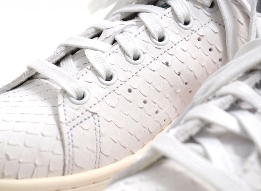 Adidas Stan Smith Crystal White   Green S76665   Soldes   Novoid Plus 0f5ebb779891