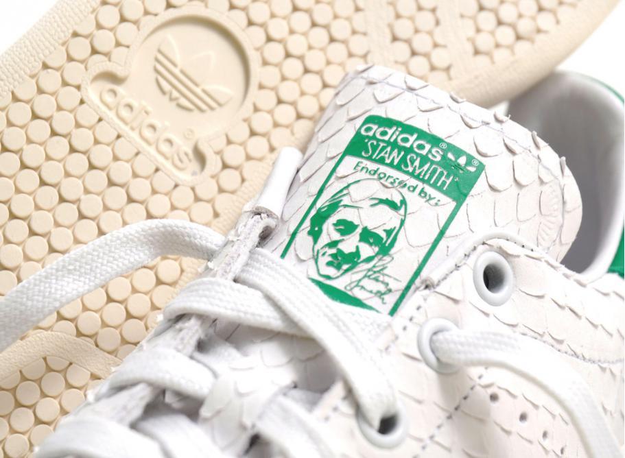 Adidas Stan Smith Crystal White   Green S76665   Soldes   Novoid Plus 72c4f96f94c2