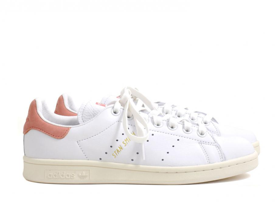 908c40ffc5e8b9 Adidas Stan Smith White   Ray Pink S80024   Soldes   Novoid Plus