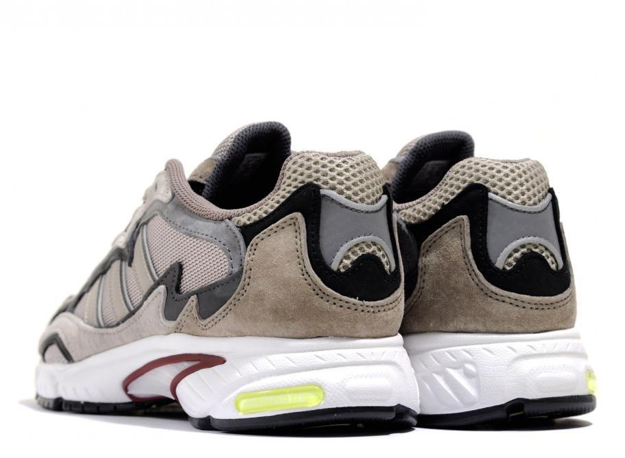 adidas Originals Leather Temper Run Trainers G27920 Brown