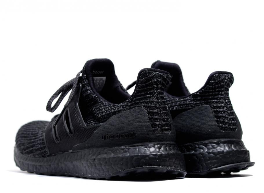 sale retailer 211d0 24001 Adidas Originals Ultra Boost 4.0 Triple Black
