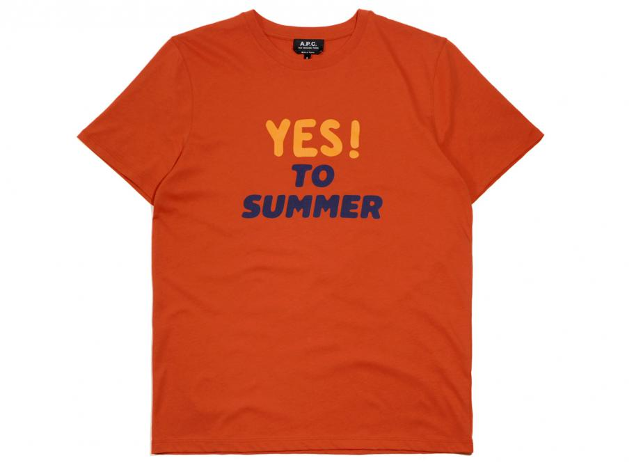 16b42e797e543b APC Yes to Summer T-shirt Red / Soldes / Novoid Plus