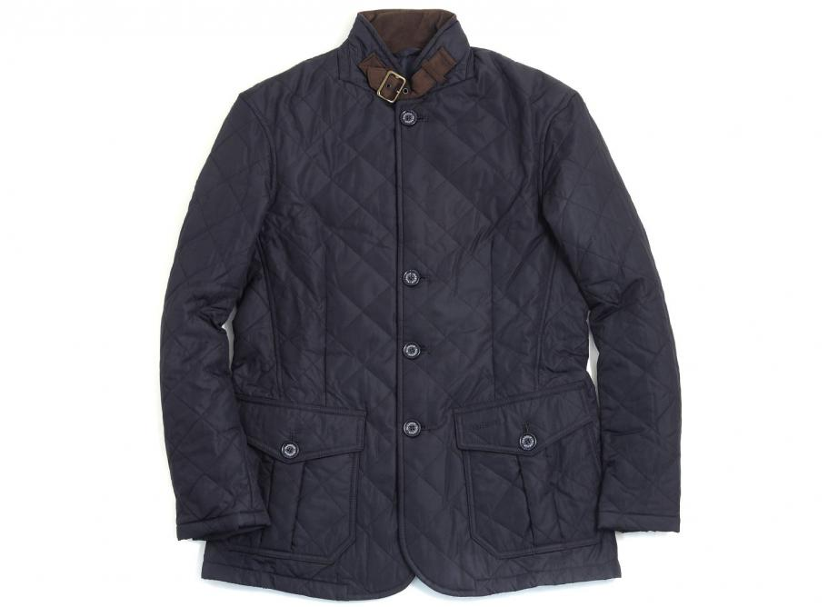 Barbour Quilted Lutz Navy