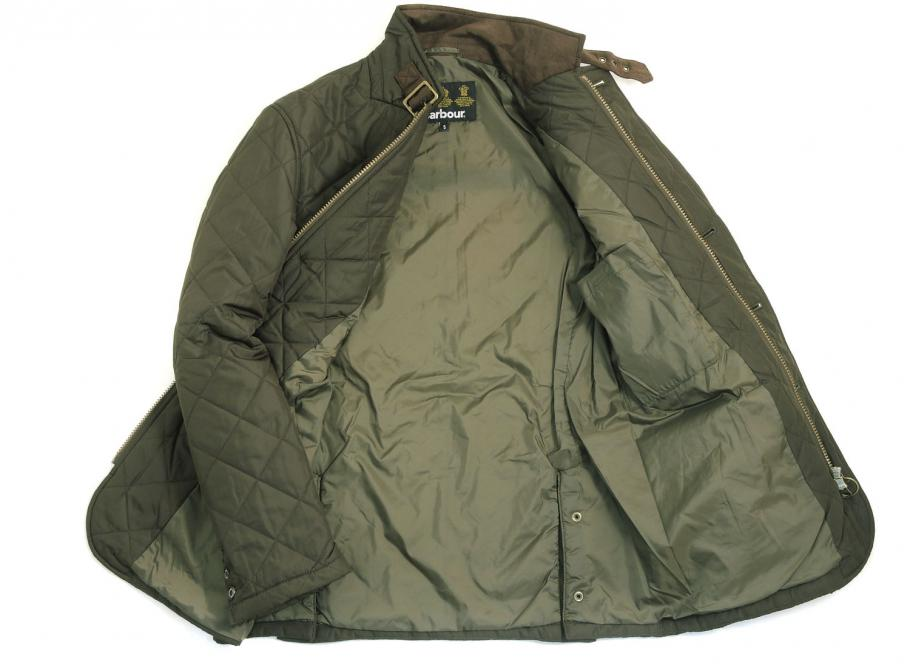 911x668 Barbour Quilted Lutz Olive 2 Jpg