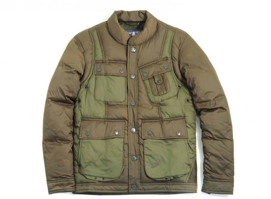 53a063244b1b Barbour X White Moutaineering Whinyama Quilted Jacket Olive   Soldes    Novoid Plus