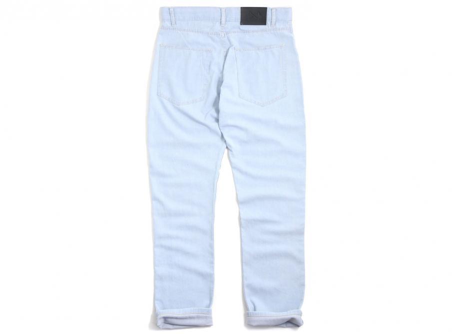 Pantalon Bleu Bleached Peintre Paname De A35RL4j