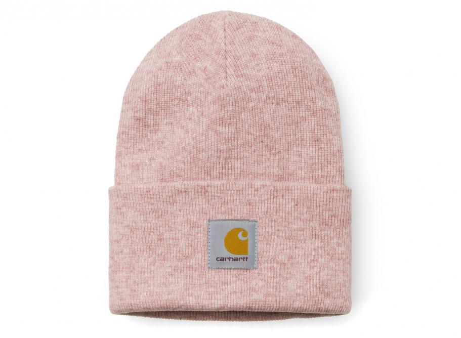 7860abea55e3 Carhartt Acrylic Watch Hat Soft Rose I020175   Soldes   Novoid Plus