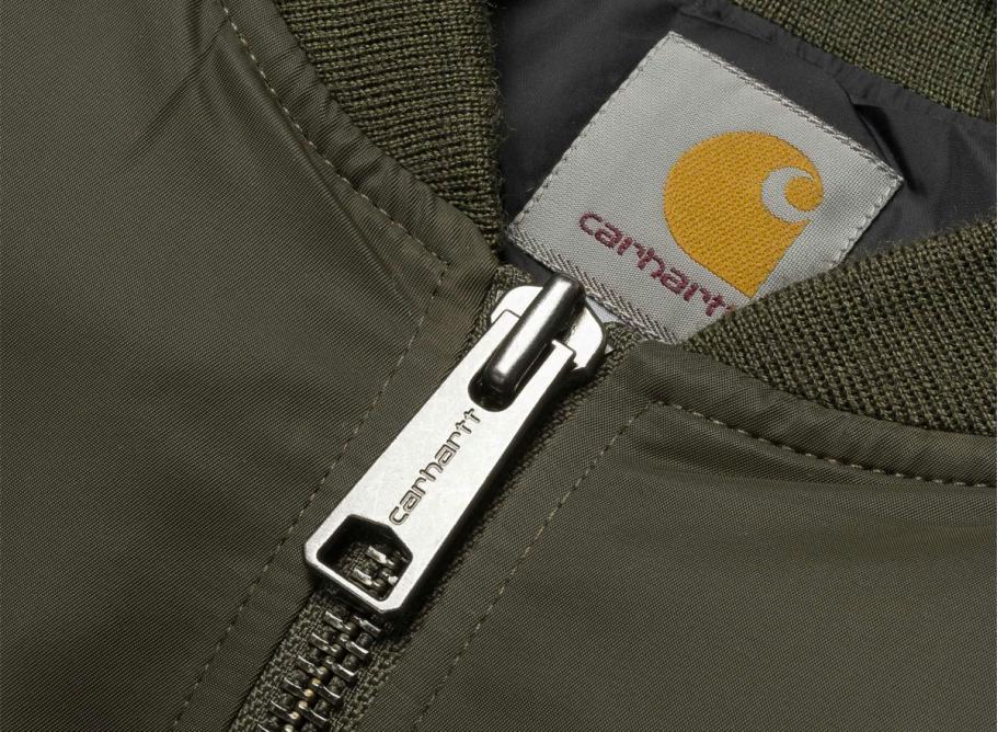 9c8a43512 Carhartt WIP Ashton Bomber Jacket Cypress Black
