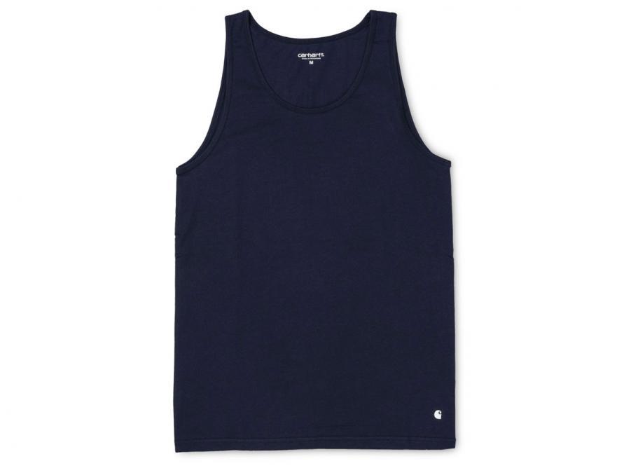 c7262361d1f33 Carhartt Base A-Shirt Navy I024659   Soldes   Novoid Plus