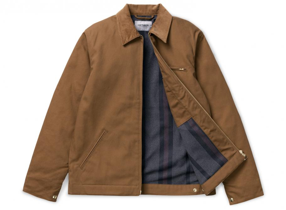 d2dfadfe71a Carhartt Detroit Jacket Hamilton Brown I015264 / Soldes / Novoid Plus