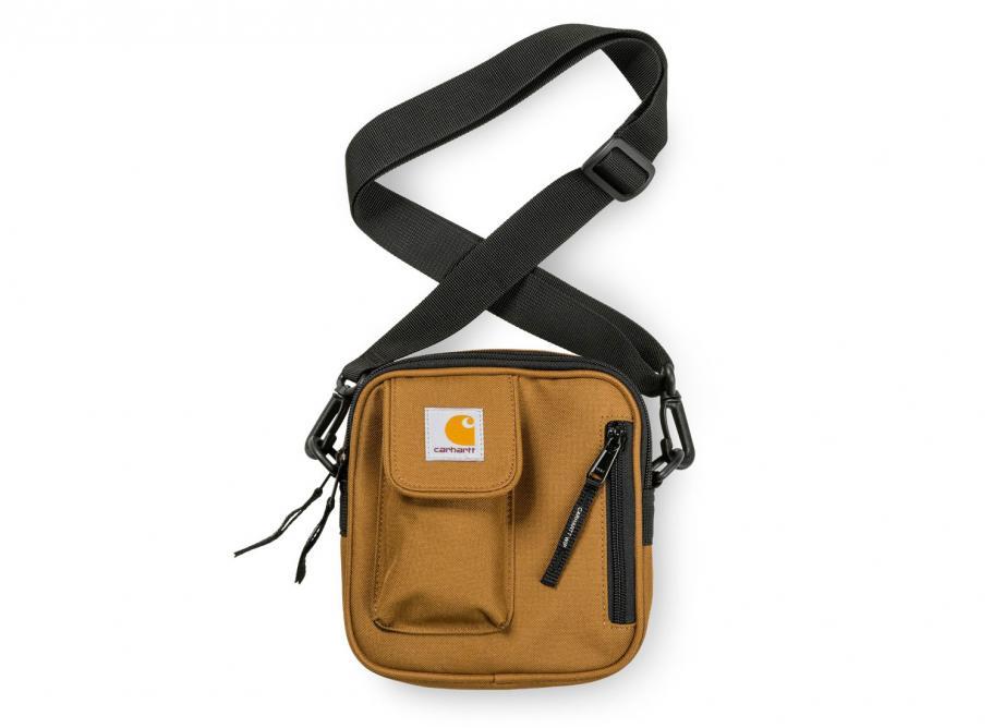 1c0e241479bec Carhartt Essentials Bag Small Hamilton Brown I006285   Soldes   Novoid Plus