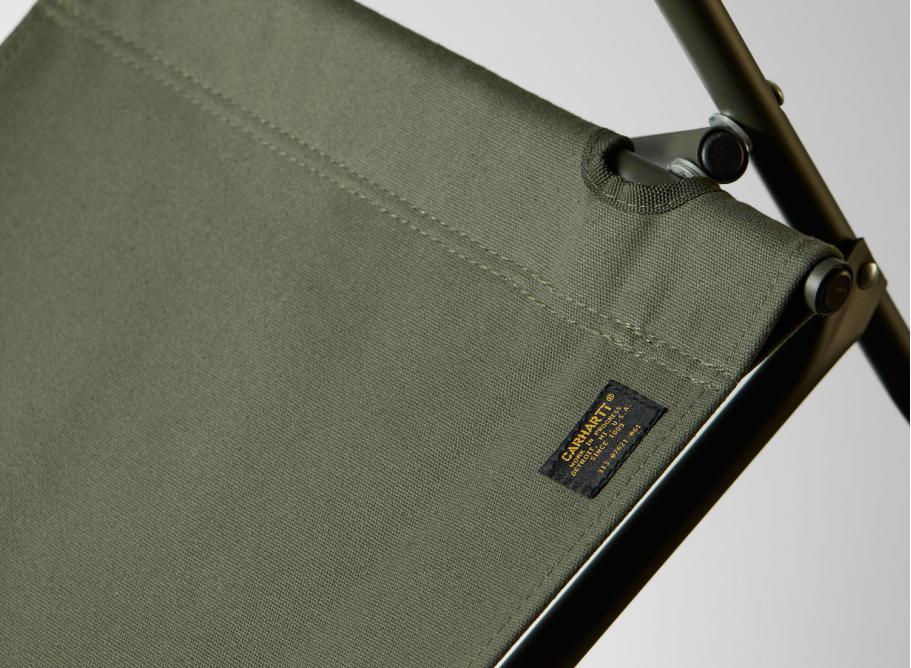 100% genuine new arrivals latest discount Carhartt WIP Land Rover Chair Metal / Canvas Adventure