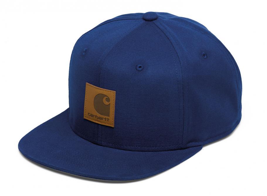 96e2ee1e1c954 Carhartt Logo Cap Metro Blue I023099   Soldes   Novoid Plus