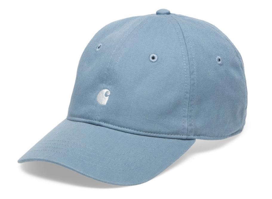 90d752b5e92ec Carhartt Madison Logo Cap Dusty Blue I023750   Soldes   Novoid Plus