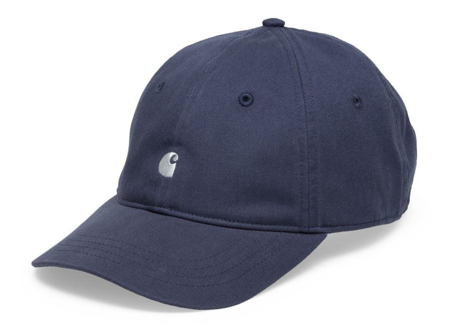 ef61b8d6dd89e Carhartt Madison Logo Cap Stone Blue I023750   Soldes   Novoid Plus