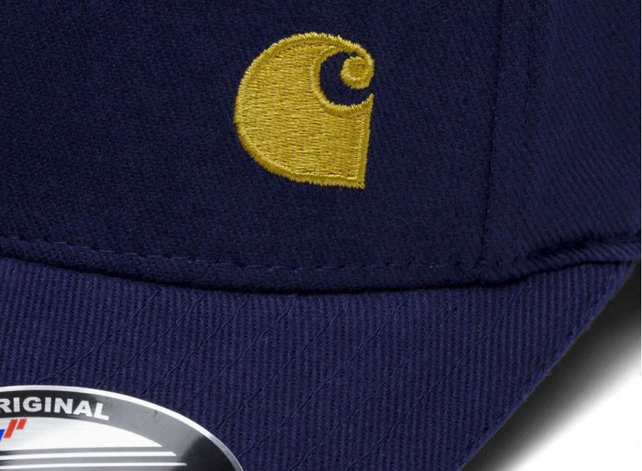 beauty running shoes for whole family Carhartt WIP Match Cap Blue / Gold