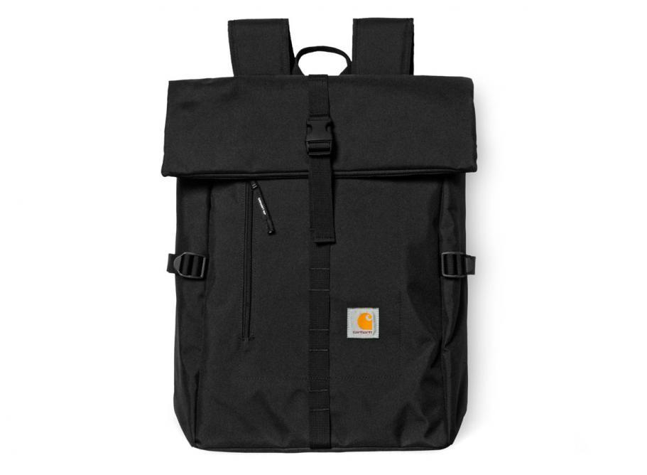 Carhartt Phil Backpack Black I023741   Soldes   Novoid Plus