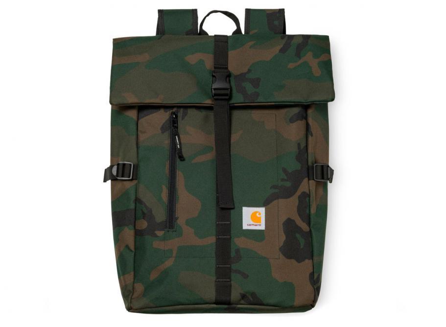 f8e1006ccdb01 Carhartt Phil Backpack Camo Green I023741   Soldes   Novoid Plus