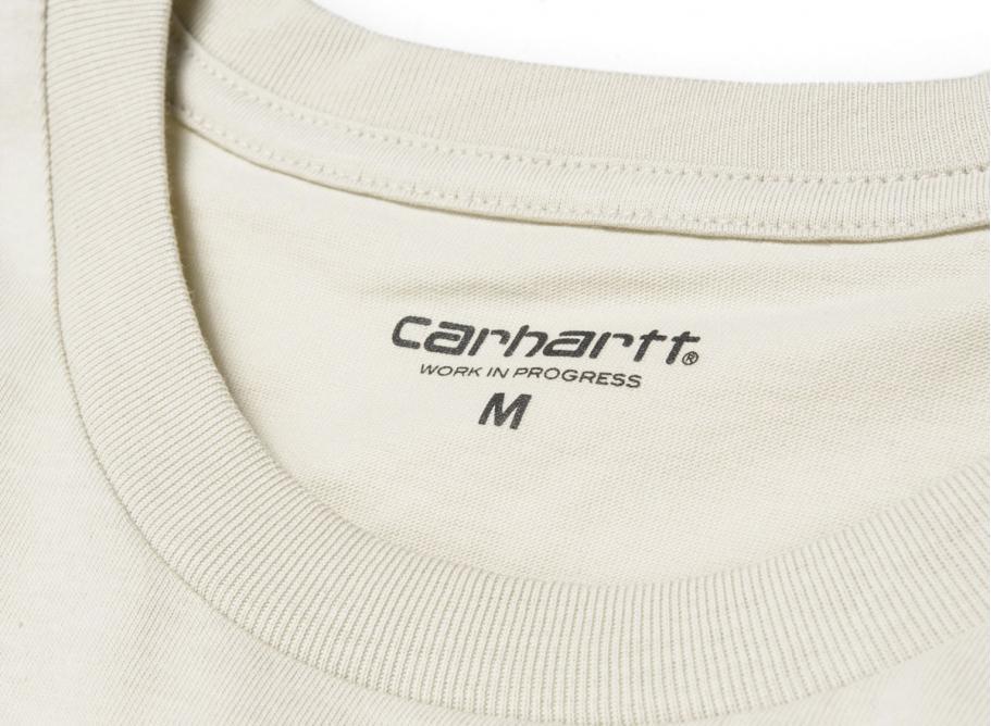 0790309a Carhartt Pocket Tshirt Sandy Desert I022091 / Soldes / Novoid Plus