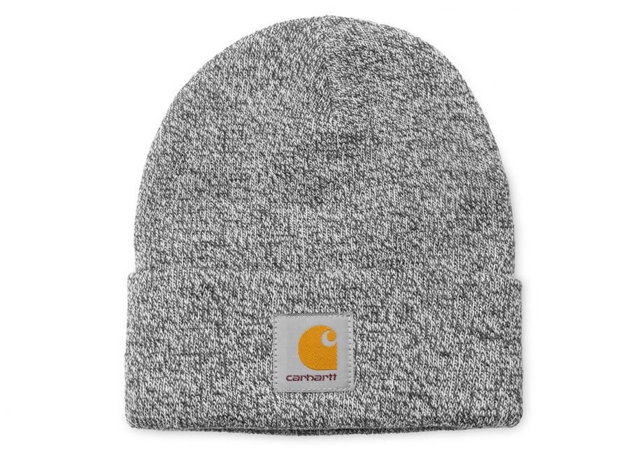Carhartt Scott Watch Hat Dark Grey Heather Snow I015523   Soldes   Novoid  Plus 032abdbb5a78