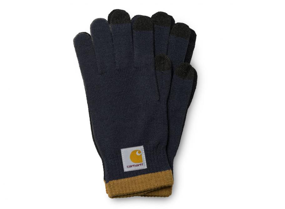 54f5e40f271b5 Carhartt Tactile Gloves Navy   Brown I023820   Soldes   Novoid Plus