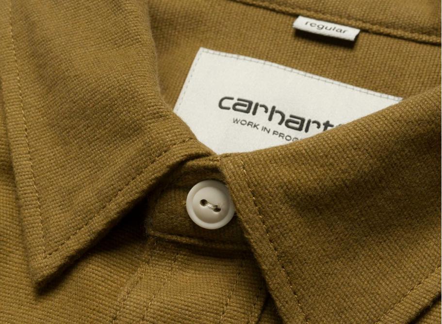 Carhartt Shirts Tony Shirt Rigid Hamilton Brown Brown