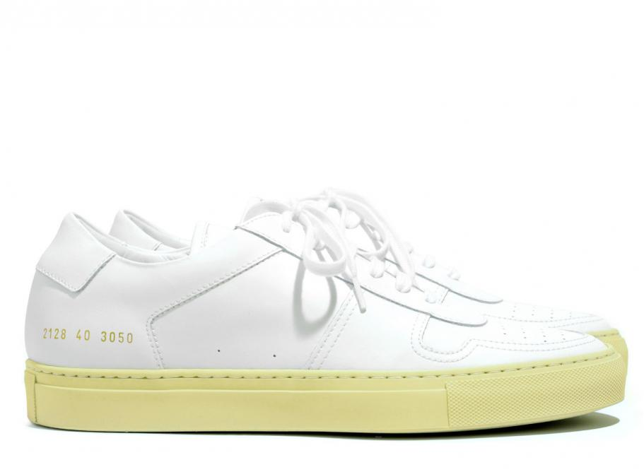 Common Projects Bball Low Retro White