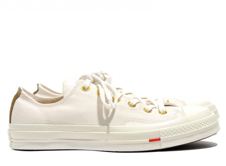 cb4942c61704e9 Converse X Carhartt Wip CT 70 OX Natural 158431C   Soldes   Novoid Plus