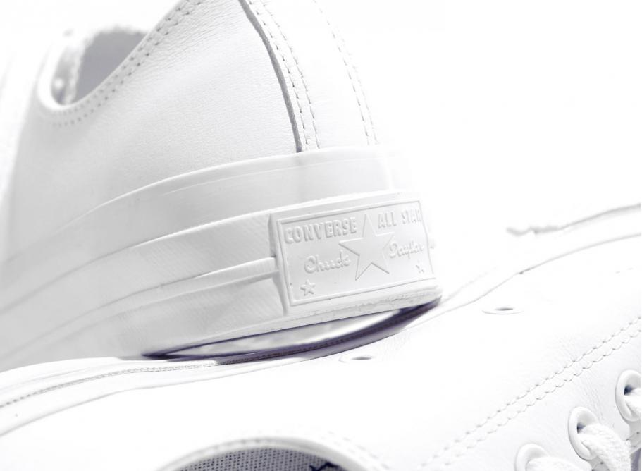 9e9cc6d68f8 Converse CT 70 OX Leather White   White 155455C   Soldes   Novoid Plus