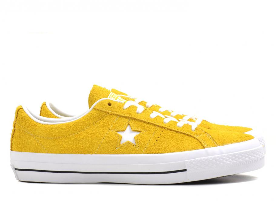 902fc5c7db Converse One Star Ox Yellow   White   Soldes   Novoid Plus