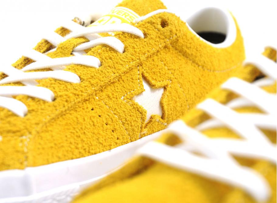 Converse One Star Ox Yellow / White