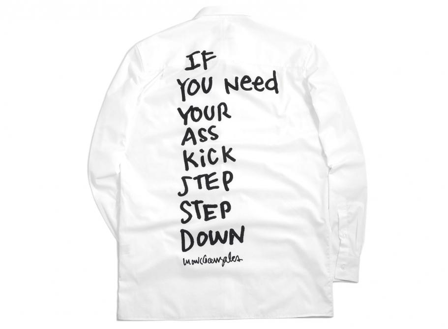 52fff2aaf4450 Etudes Studio x Mark Gonzales Info Ass Kick Shirt   Soldes   Novoid Plus