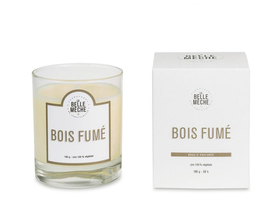 la belle meche bougie parfumee bois fume soldes novoid plus. Black Bedroom Furniture Sets. Home Design Ideas