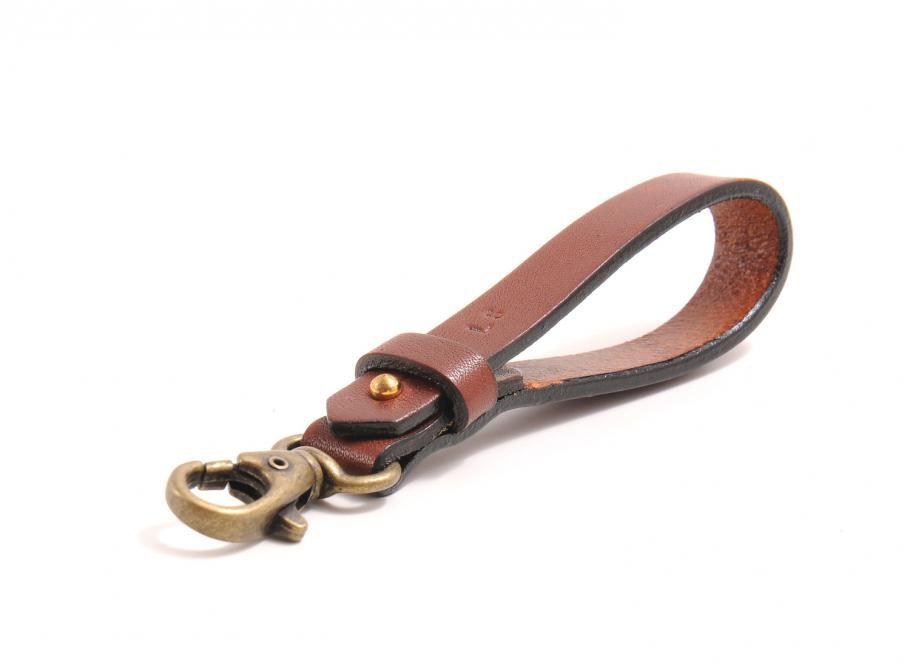Le Sellier Porte Cles Mousqueton Cuir Gold Novoid Plus - Porte clef cuir