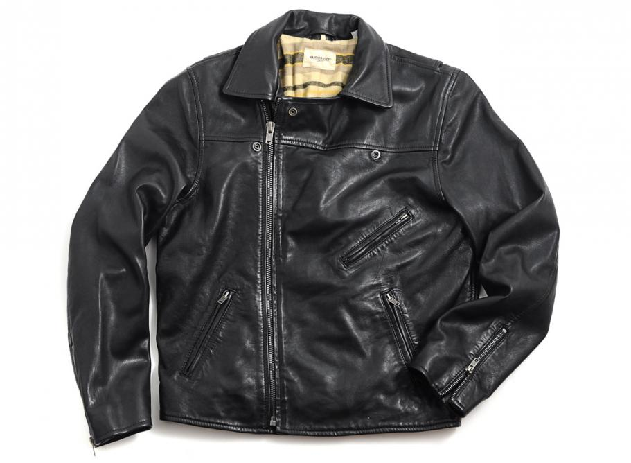 Levis Made Amp Crafted Offroad Leather Jacket Soldes