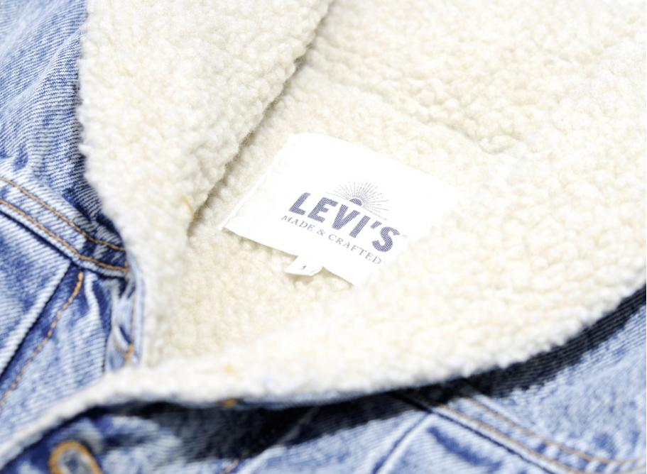 Levis Made & Crafted Shawl Collar Trucker Mataleon