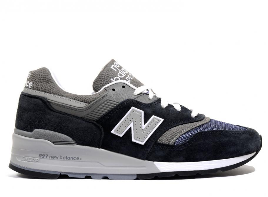 00fa15fe1bb1a New Balance M997NV Navy / Grey Made in USA / Soldes / Novoid Plus