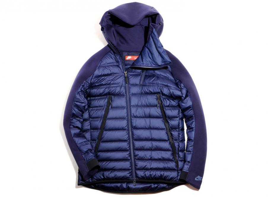 b08d28921fef Nike Tech Fleece Aeroloft Jacket Obsidian 806838-451   Soldes   Novoid Plus