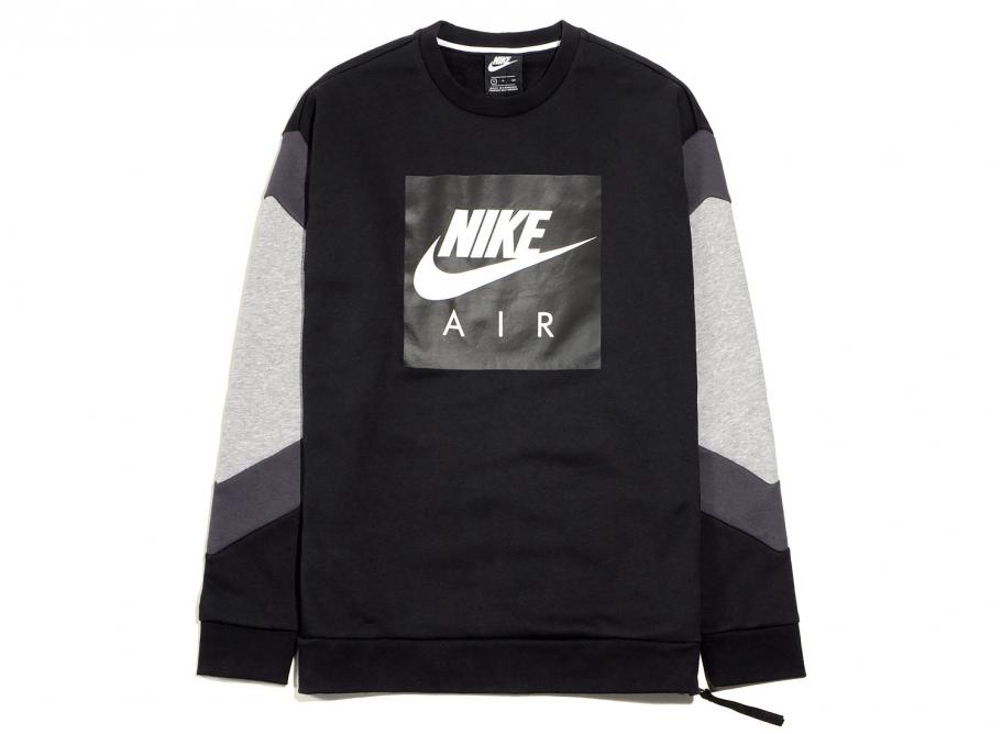 Nike Air Crewneck Fleece Black Anthracite