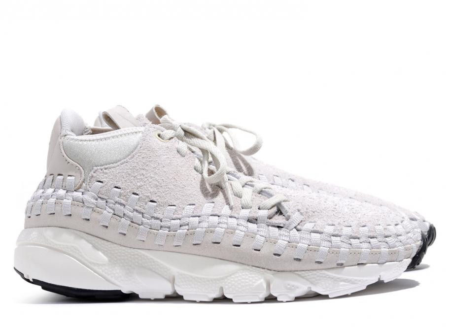 on sale acdce c6fb8 Nike Air Footscape Woven Chukka QS Light Bone 913929-002   Soldes   Novoid  Plus