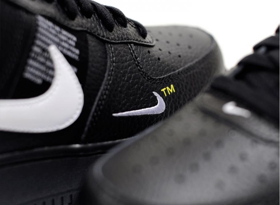 a72add6e1ef0 Nike Air Force 1  07 LV8 Utility Black AJ7747-001   Soldes   Novoid Plus