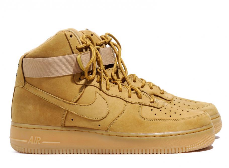 Nike Air Force 1 High Flax 882096-200   Soldes   Novoid Plus 494fc551ae
