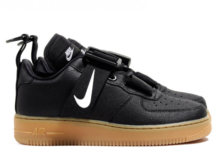 check-out c99d7 cd273 Nike Air Force 1 Utility Black Gum