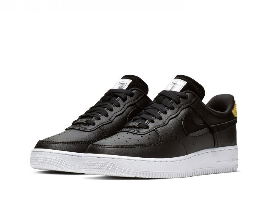 usine authentique 8f3a8 94bc2 Nike W Air Force 1 07 LX Black