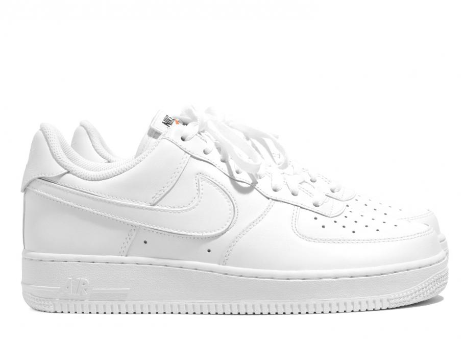Nike Air Force 1 Velcro Swoosh Pack White AH Latest