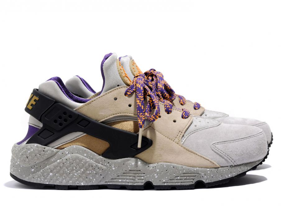 the latest ebb7b 924ae Nike Air Huarache Run Premium Linen / Golden Beige