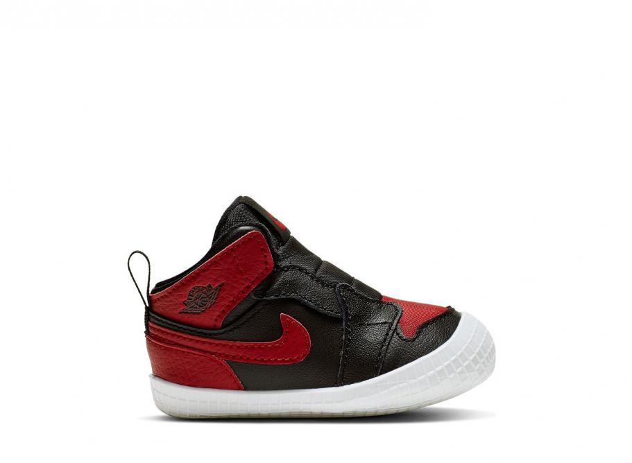 Nike Air Jordan 1 Crib (red black)   43einhalb Sneaker Store